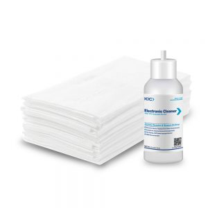 Cleaning Kit for Electronics with Large Dry Wipes & 4oz. Bottle 70% IPA