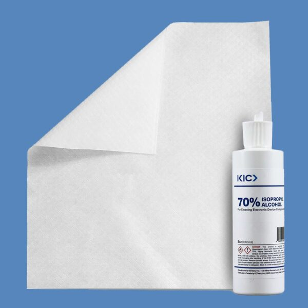 Cleaning Kit for Electronics with Large Dry Wipes & 8oz. Bottle 70% IPA