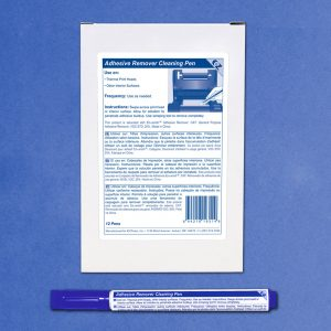 Adhesive Remover Pen with Chisel - 12 Pens