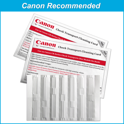 Waffletechnology for Canon Check Scanners with WonderSolvent