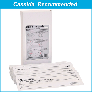 Cassisa CleanPro Cleaning Swabs with 99.7% IPA KWCAS-S6B15