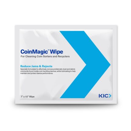 KICWipes for Coin Sorting Technology - Large Wipes