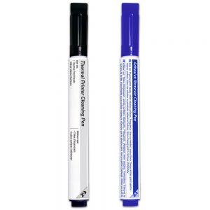 Combo Pack - Thermal Printer Cleaning Pen & Adhesive Remover Pen - KT-KPJ2DAN1 and KT-KPJ2DAB10