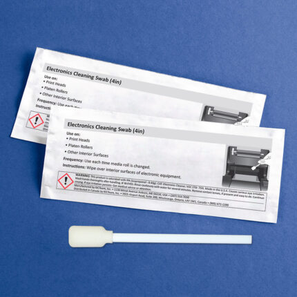 4 inch Cleaning Swab for Electronics with 99.7% Isopropyl Alcohol