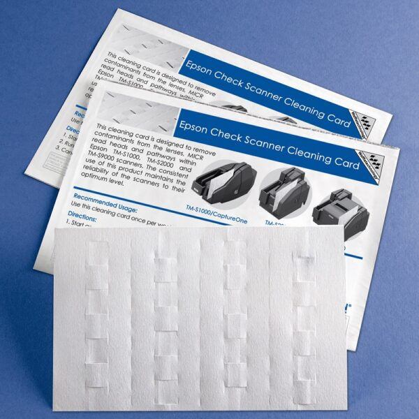 Waffletechnology for Epson Check Scanners with WonderSolvent
