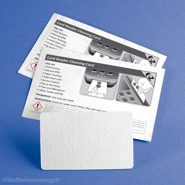 Cleaning Cards for Card Readers with 99.7% IPA - 50 Cards