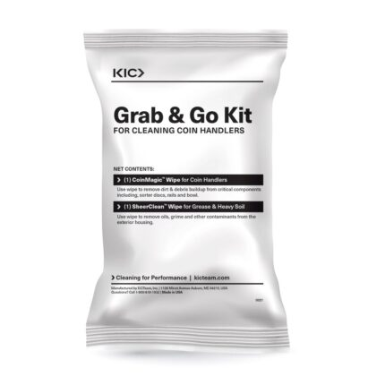 Grab 'n Go Cleaning Kit for Coin Sorters