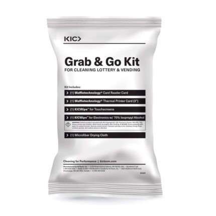 Grab 'n Go Cleaning Kit for Lottery Vending Machines