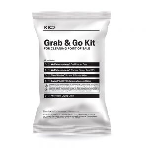 Grab 'n Go Cleaning Kit for Point of Sale (2in Receipt Paper)