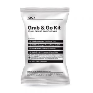Grab 'n Go Cleaning Kit for Point of Sale (3in Receipt Paper)