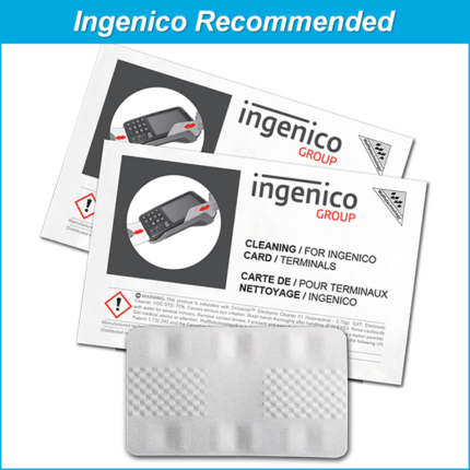 Waffletechnology for Ingenico Card Readers with 99.7% IPA