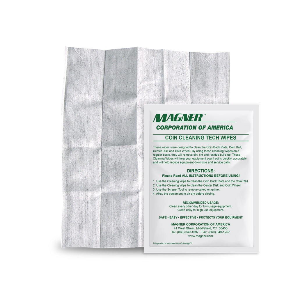 KICWipes for Magner Coin Sorters