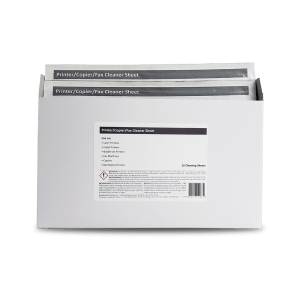 Cleaner Sheet for Printers & Copiers with 99.7% IPA