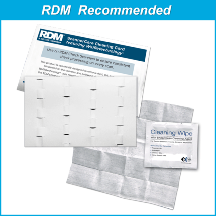 RDM ScannerCare Cleaning Kit Featuring Waffletechnology