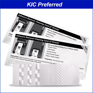 """Waffletechnology Cleaning Cards for Thermal Printers with 2"""" Receipt Paper"""